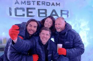 Amsterdam: Cocktails in der Icebar