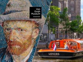 Amsterdam: Kombiticket Van Gogh Museum und Kanalrundfahrt. Foto: GetYourGuide