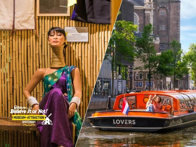 Amsterdam: 1 uur rondvaart en Ripley's Believe it or Not