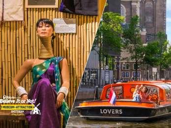 Amsterdam: Kanalrundfahrt und Ripley's Believe it or Not