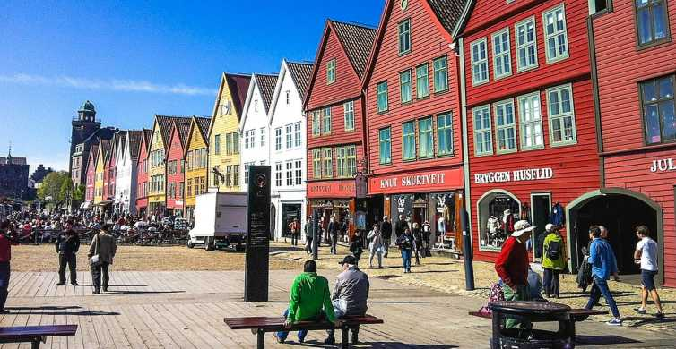 Bergen: City Sightseeing, Fjord Cruise & Mt Fløyen Funicular