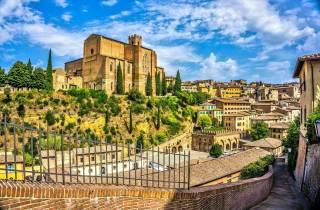 Siena: Geführte Stadtrundfahrt mit direktem Eintritt in die Kathedrale