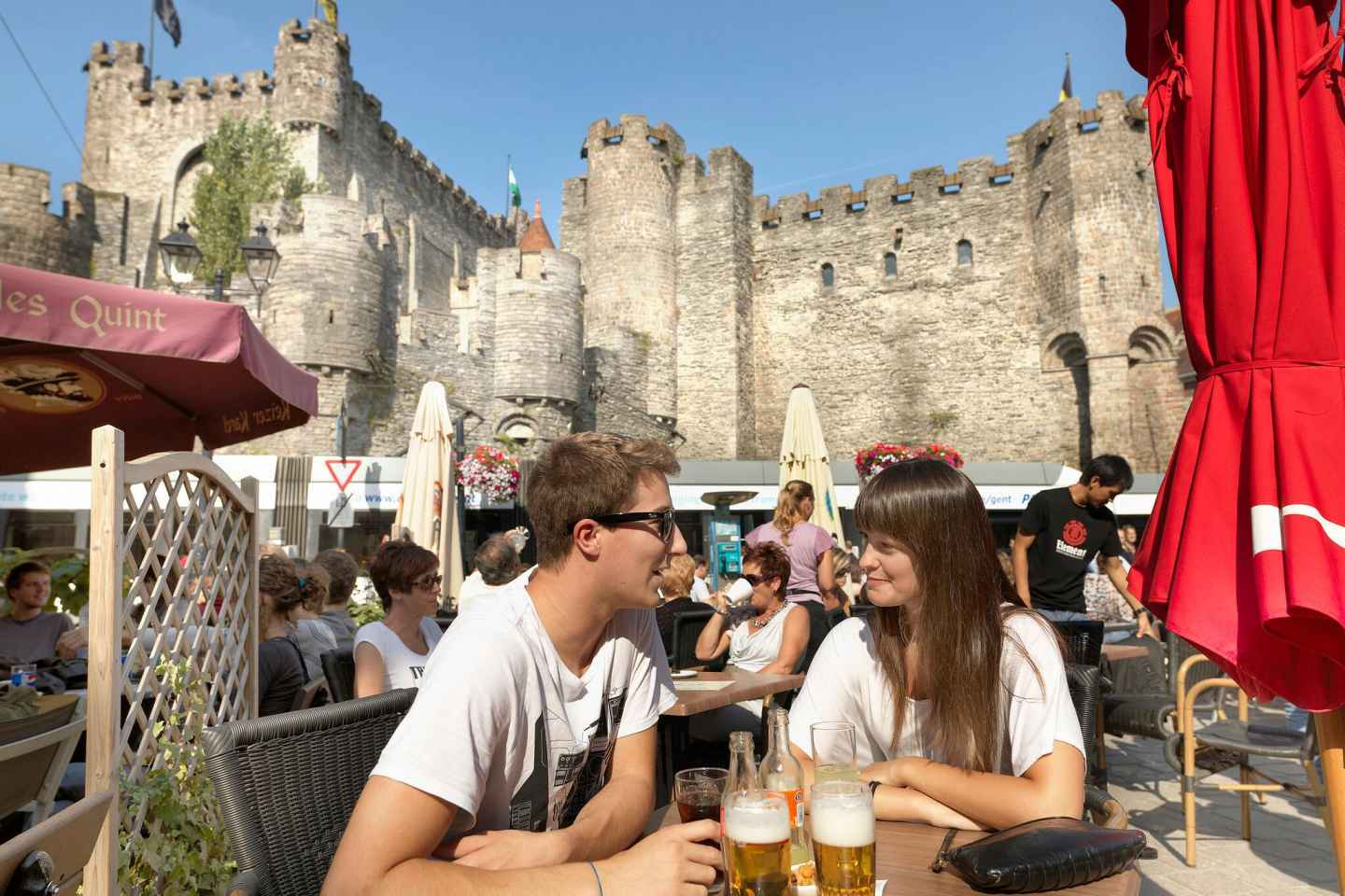 Ghent: Private Walking Tour