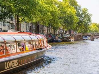 Amsterdam: 1-stündige Kanalfahrt ab dem Leidse-Plein