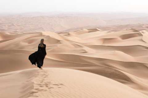 Dubaï: safari matinal dans le désert avec sandboard et promenade à dos de chameau
