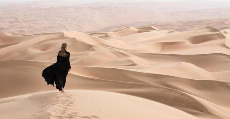 Dubai: Morning Desert Safari with Sandboarding & Camel Ride