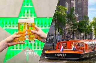 Amsterdam: Heineken Experience & 1-stündige Grachtenfahrt