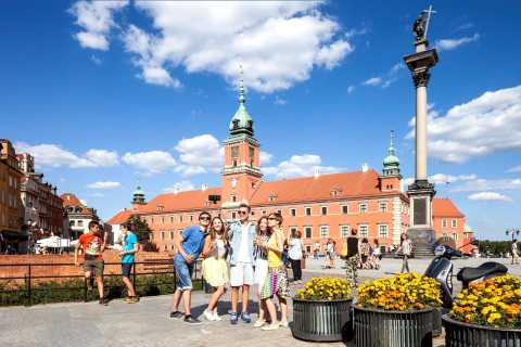 Warsaw City Full-Day Private Panoramic Car & Walking Tour