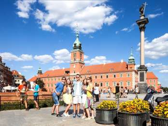 Warschau: City-Tagestour im Panorama-Bus und zu Fuß