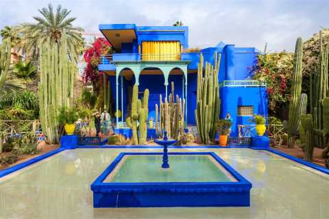 Marrakech: Majorelle Garden Visit and Hammam Experience