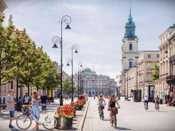 Warschau: Alt- und Neustadt-Erkundung zu Fuß