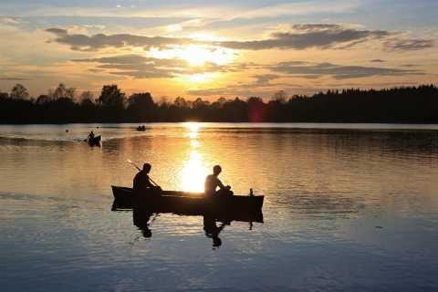 Rovaniemi: canoë sous le soleil de minuit
