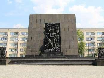 Warschau: Private Tour durch jüdische Viertel