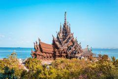 De Bangkok: excursão em grupo pequeno pela Praia de Pattaya e Ilha Coral