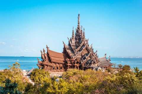 Desde Bangkok: tour en grupo reducido a la playa de Pattaya y la isla de Coral