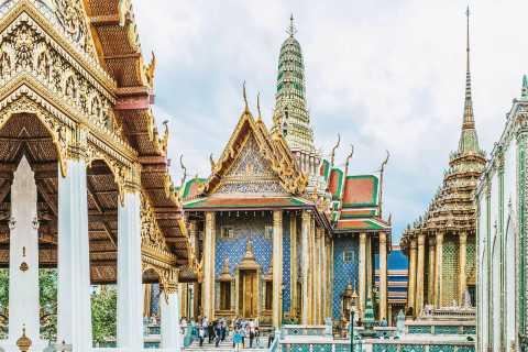 Desde Pattaya: tour de un día a los templos de Bangkok