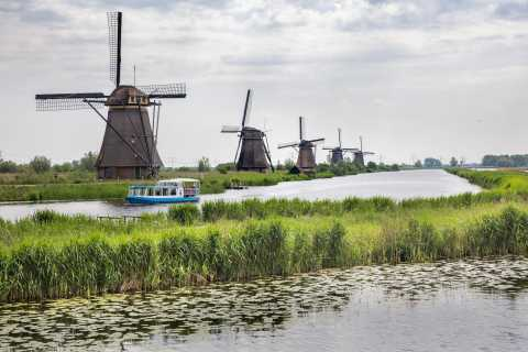 From Amsterdam: Private Tour of Utrecht, Kinderdijk, & Gouda