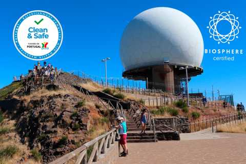 Arieiro Peak and Nun´s Valley: Open Roof 4x4 Half-Day Tour