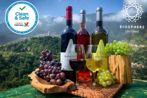 Madeira: Nature & Wine 4x4 Tour from Funchal or Caniço