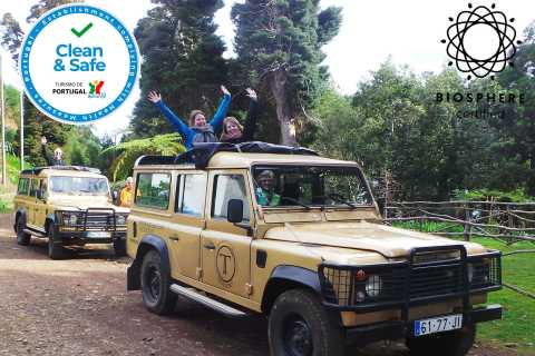 Madeira East or West Private Half-Day Tour by Open-Top Jeep
