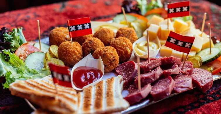 Amsterdam: Local Food Walking Tour