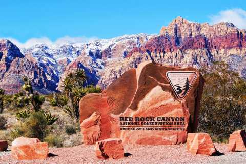 Las Vegas: Guided Red Rock Canyon Tour