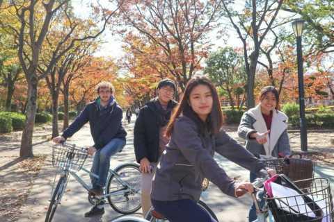 Osaka: Excursão de bicicleta pelos destaques de 3 horas em Osaka