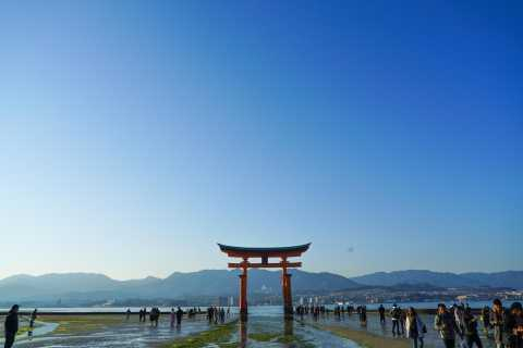 Hiroshima: Miyajima Cultural Walking Tour with Food Tastings