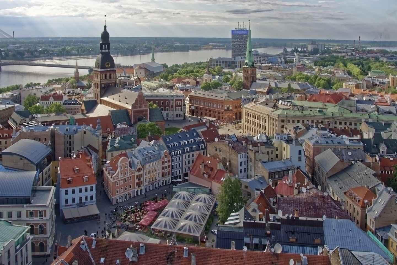 Riga: Stadtrundgang durch die Altstadt und den Zentralmarkt