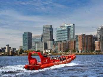 London: Thames Rockets Private Speedboat Erfahrung