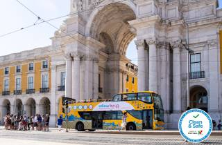 Lissabon: 72 Stunden Hop-On/Hop-Off-Bus, Straßenbahn & Boot