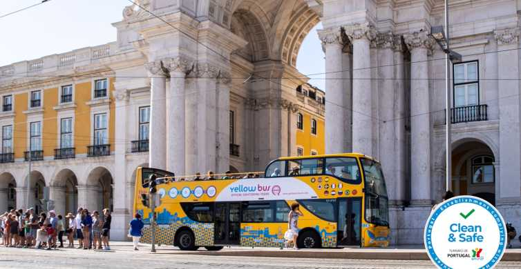 Lisbon 72-Hour Hop-On Hop-Off Bus, Tram and Boat Ticket