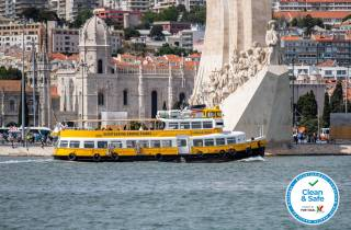 Lissabon: Yellow-Boat-Tour auf dem Tejo