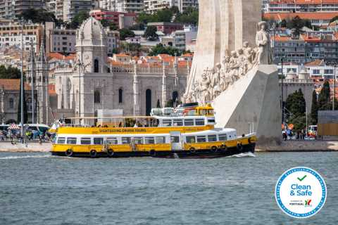 Lisbon: Tagus River Yellow Boat Tour
