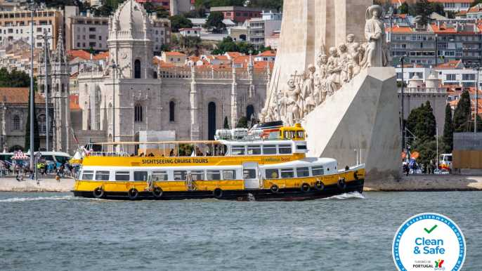 Lisboa: tour por el río Tajo