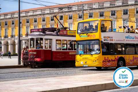 Lisbon 4-in-1 Hop-On Hop-Off Bus and Tram Tours