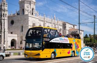 Lissabon: 24-Stunden-Pass für Belém-Hop-On/Hop-Off-Bustour