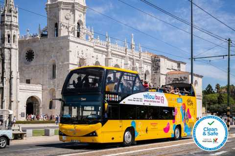 Lisbon: Belém Hop-On-Hop-Off Bus Tour - 24-Hour Pass