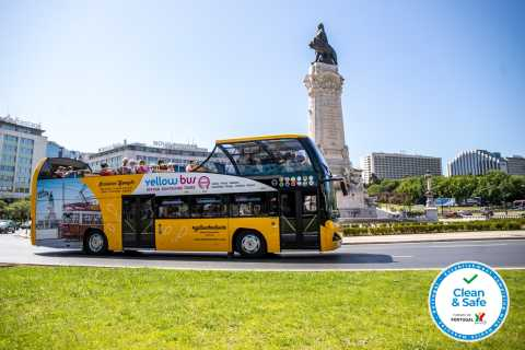 Lissabon: 2-in-1 Hop-On/Hop-Off-Bustour