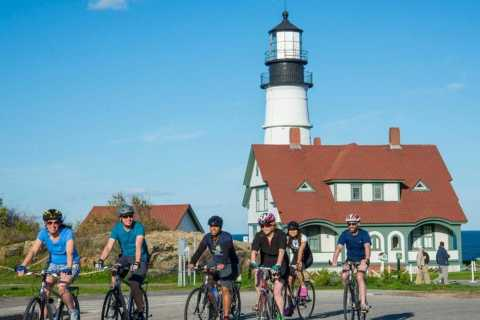 Portland, Maine: Lighthouse Bike Tour with Lobster Roll