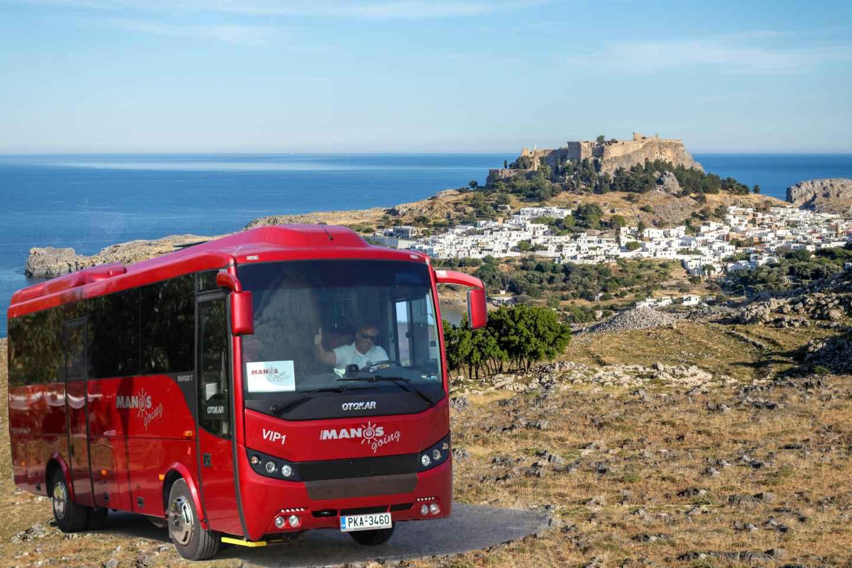 Ab Rhodos-Stadt: Tagestour nach Lindos