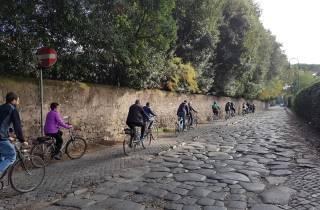 Appia Antica: Ganztägiger Fahrradverleih mit anpassbaren Routen