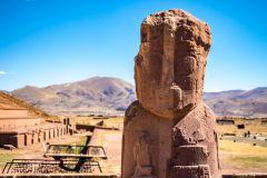 La Paz: Excursão de dia inteiro ao sítio arqueológico de Tiwanaku