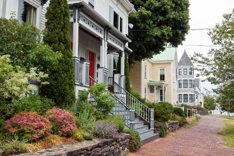 Portland, Maine: wandeltocht door de wijk West End