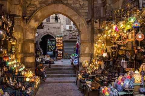 Kairo: Privat halvdag lokalt marked og Souq-tur
