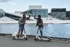 Oslo: City Tour Privado de E-Scooter