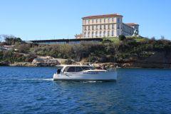 Marselha: cruzeiro de barco ao pôr do sol com jantar e bebidas