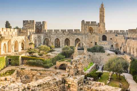 From Jerusalem/Tel Aviv: Jerusalem and Dead Sea Private Tour