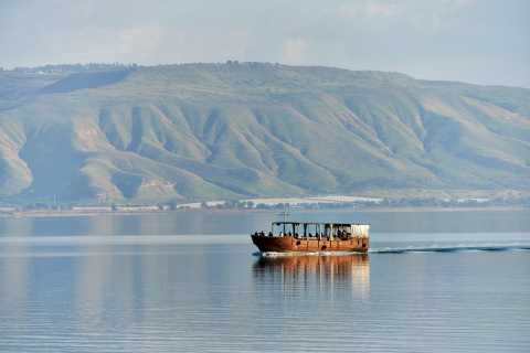From Jerusalem/Tel Aviv: Galilee & Jordan River Private Tour