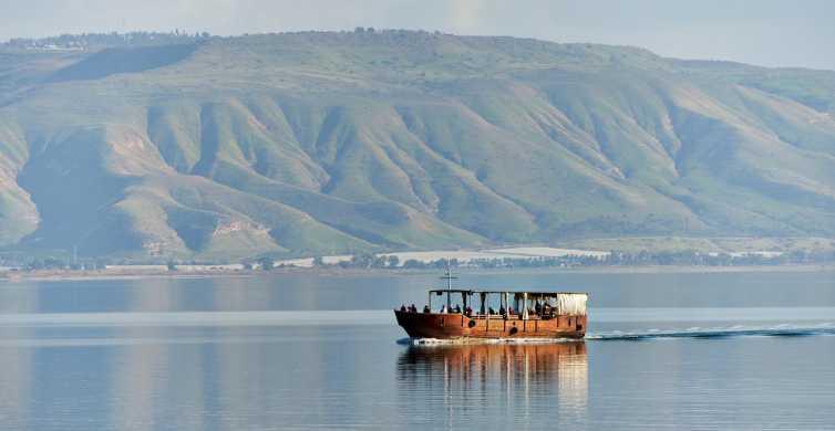 Vanuit Jeruzalem / Tel Aviv: privétour Galilea en Jordaan